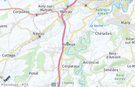 Stadtplan Hauterive (FR)