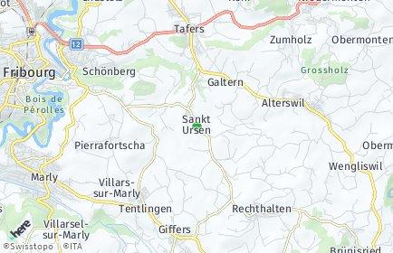 Stadtplan Sankt Ursen