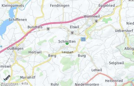 Stadtplan Schmitten (FR)