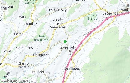 Stadtplan La Verrerie