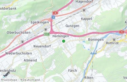 Stadtplan Härkingen
