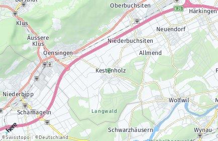 Stadtplan Kestenholz