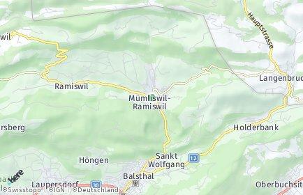Stadtplan Mümliswil-Ramiswil