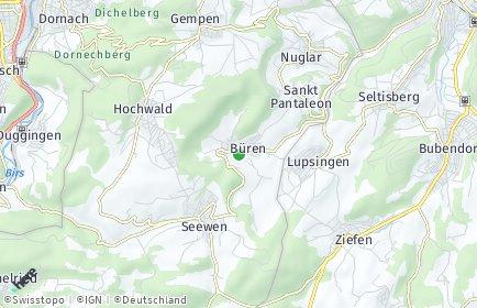 Stadtplan Büren (SO)