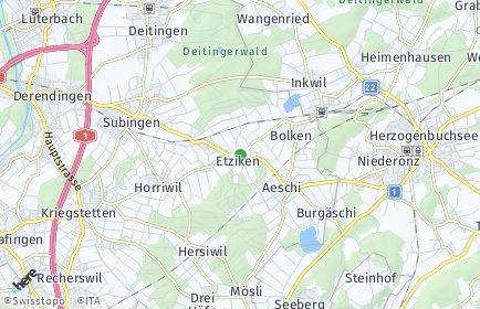 Stadtplan Etziken