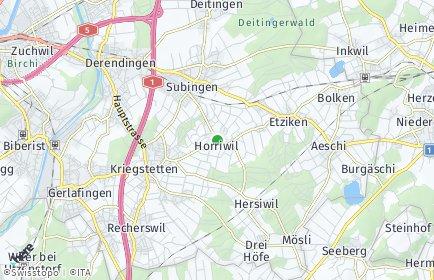Stadtplan Horriwil