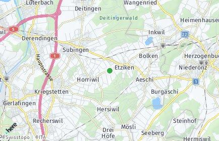Stadtplan Hüniken