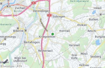Stadtplan Oekingen