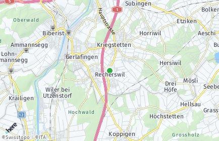 Stadtplan Recherswil