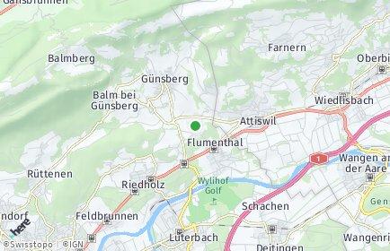 Stadtplan Hubersdorf