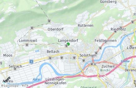 Stadtplan Langendorf