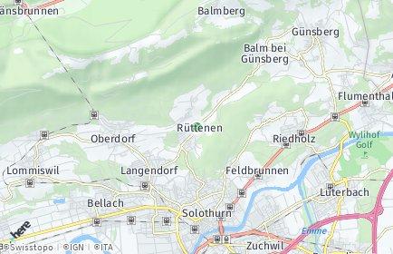Stadtplan Rüttenen