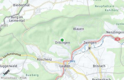 Stadtplan Dittingen