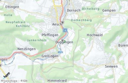 Stadtplan Duggingen