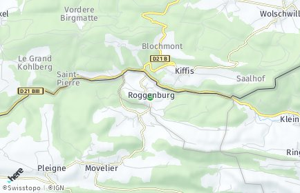 Stadtplan Roggenburg