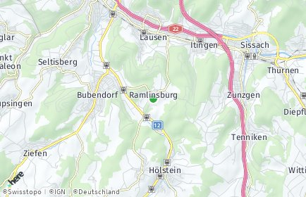 Stadtplan Ramlinsburg
