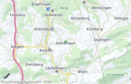 Stadtplan Häfelfingen
