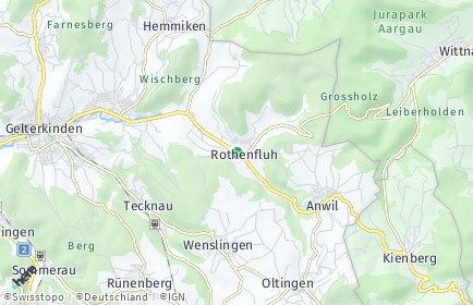 Stadtplan Rothenfluh