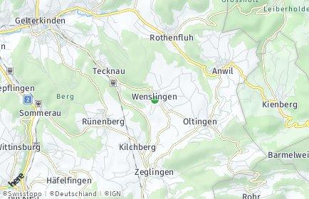 Stadtplan Wenslingen