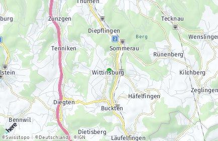 Stadtplan Wittinsburg