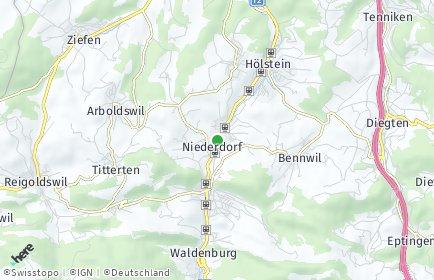 Stadtplan Niederdorf