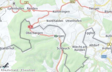 Stadtplan Bargen (SH)