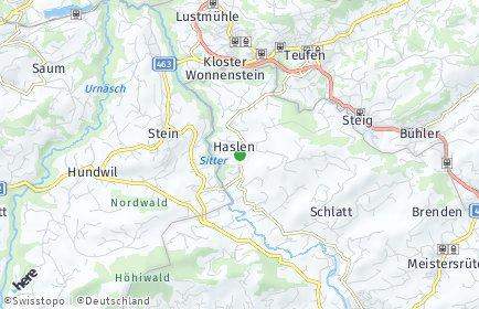 Stadtplan Schlatt-Haslen