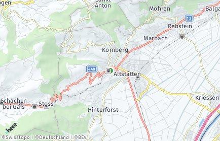 Stadtplan Altstätten OT Lienz