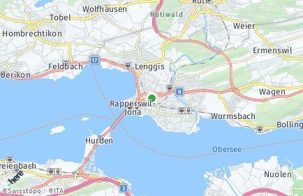 Stadtplan Rapperswil-Jona OT Wagen