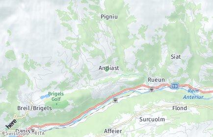 Stadtplan Andiast