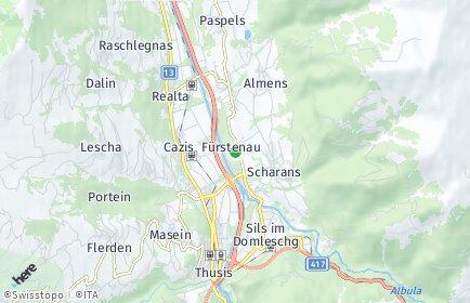 Stadtplan Fürstenau