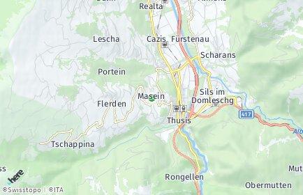 Stadtplan Masein