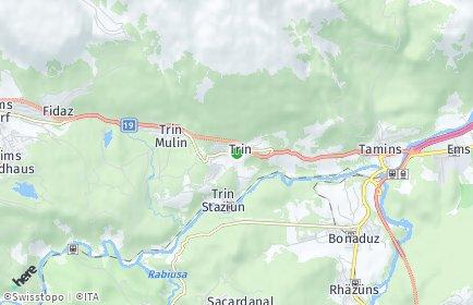 Stadtplan Trin
