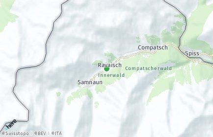 Stadtplan Samnaun