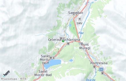 Stadtplan Celerina/Schlarigna