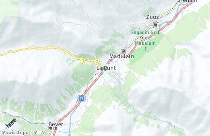 Stadtplan La Punt-Chamues-ch