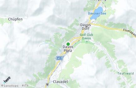 Stadtplan Davos