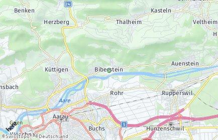 Stadtplan Biberstein
