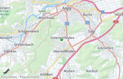 Stadtplan Unterentfelden