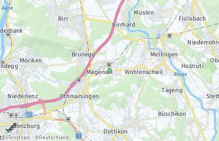 Stadtplan Mägenwil