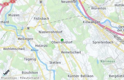 Stadtplan Oberrohrdorf