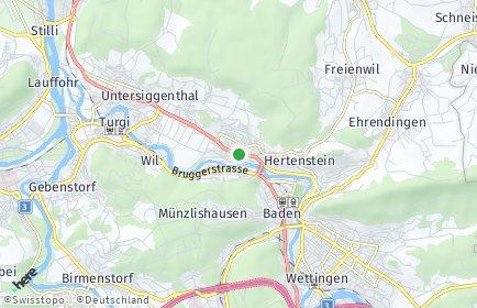Stadtplan Obersiggenthal