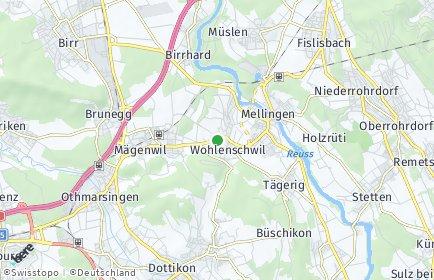Stadtplan Wohlenschwil