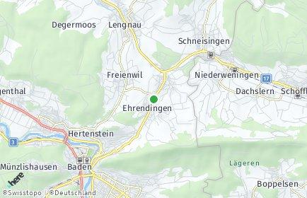 Stadtplan Ehrendingen