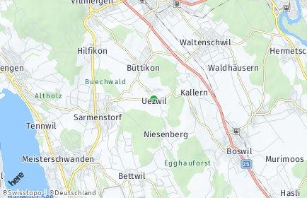 Stadtplan Uezwil