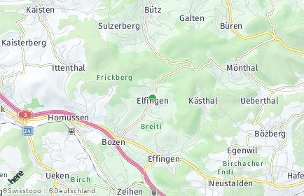 Stadtplan Elfingen