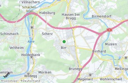 Stadtplan Lupfig