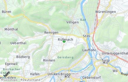 Stadtplan Rüfenach