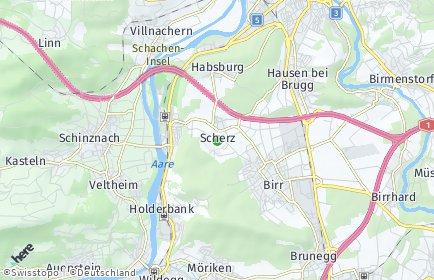 Stadtplan Scherz