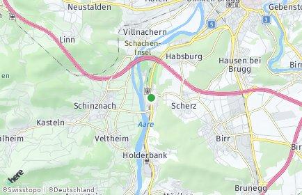 Stadtplan Schinznach-Bad
